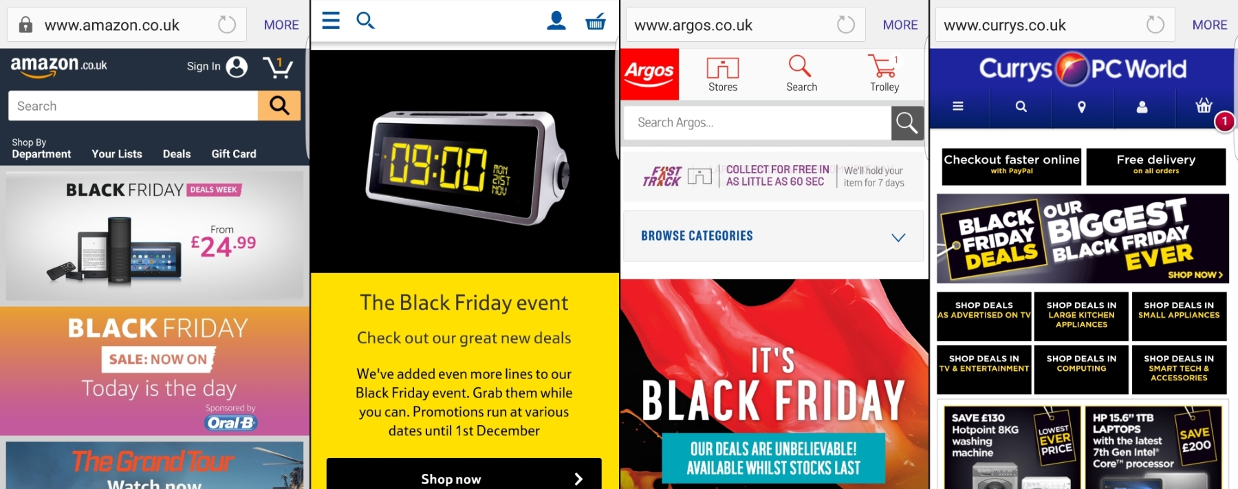 Black Friday: How do Top Retailers' Mobile Sites Compare?