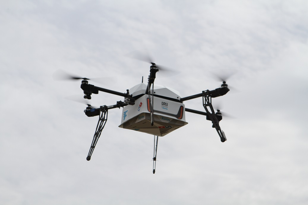 Domino's Teams Up with Flirtey for NZ Pizza Delivery by Drone Service