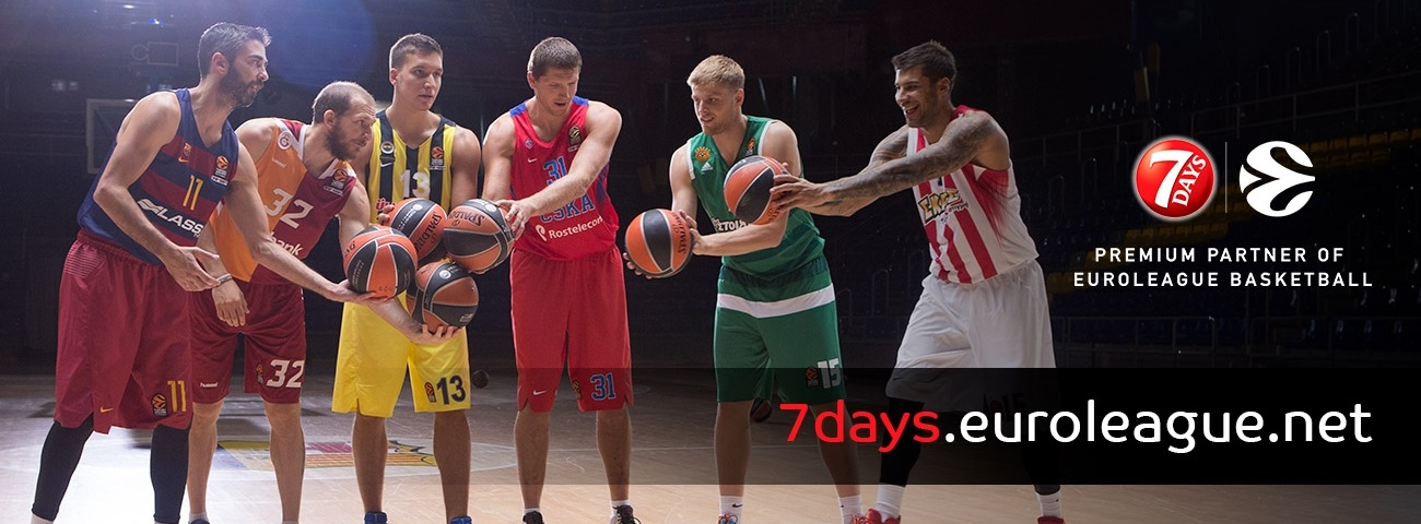 Euroleague Basketball Launches Digital Platform with FMCG Brand 7Days