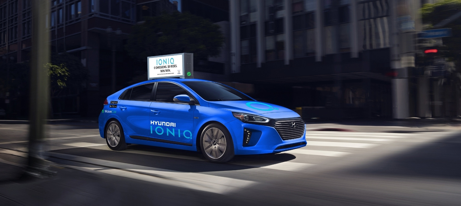 Hyundai Launching Ad-supported Free Drive for Ioniq Electric Car