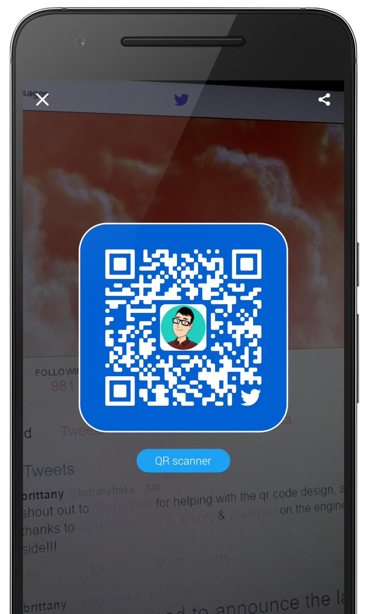 Twitter Introduces Snapchat-style QR Codes