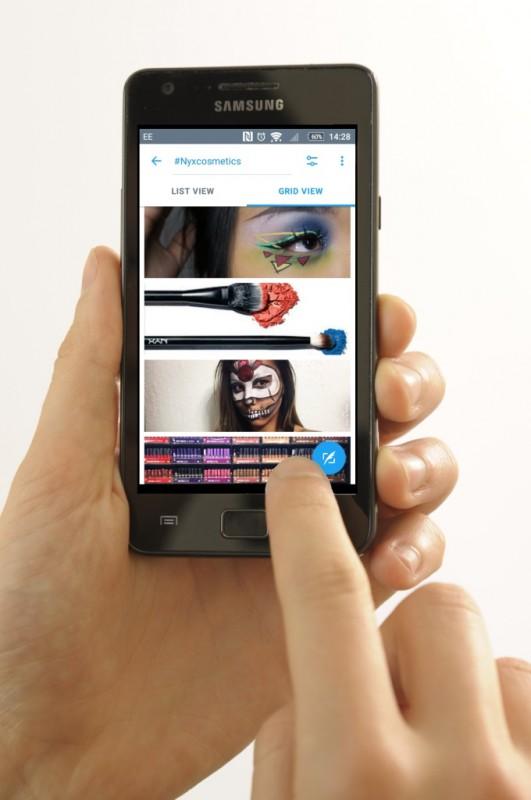 nyx cosmetics campaign