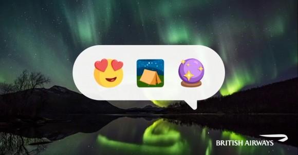 British Airways Launches Emoji-powered Holiday Ideas Chatbot