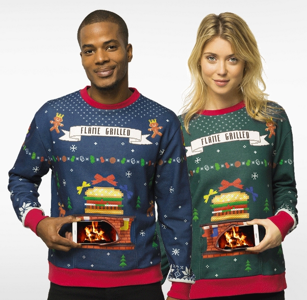 Burger King France Sets Light to Rad's Christmas Jumpers