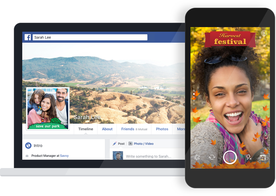 Facebook Borrows Another Feature from Snapchat with Location-based Camera Filters