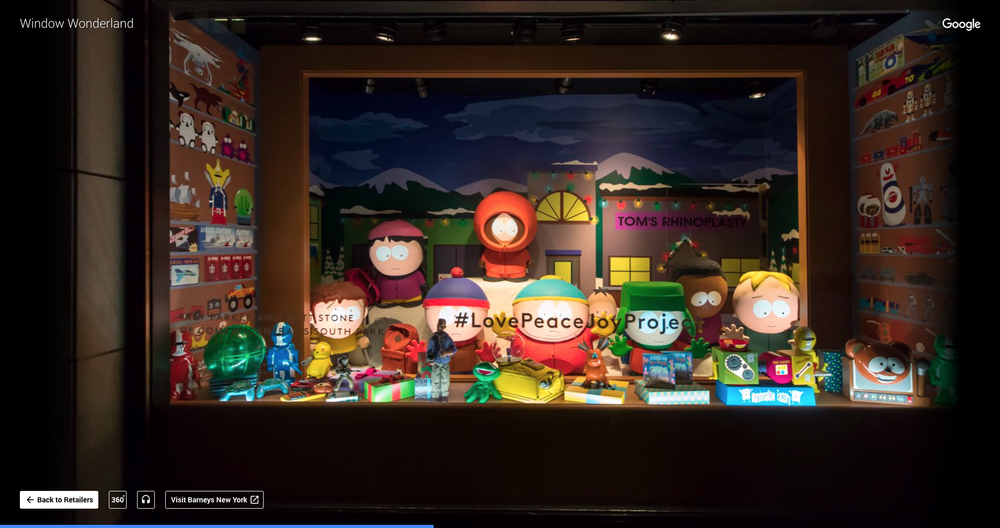 Google Introduces Window Wonderland Virtual Walk to Take in NYC's Holiday Displays