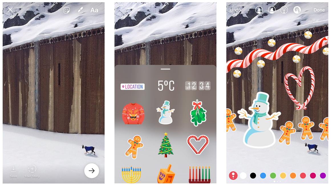 Instagram Stories Stickers Update
