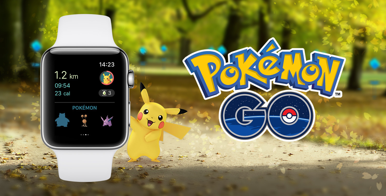 Pokémon Go Lands on Apple Watch