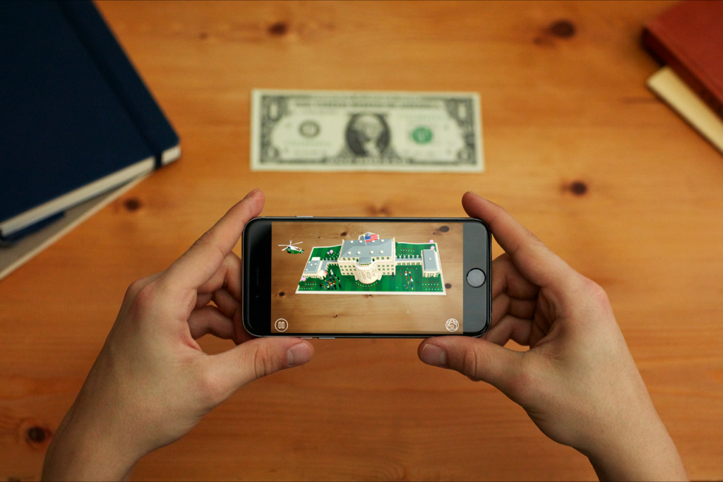The White House Enters the World of AR with '1600' App
