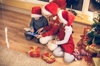 Christmas Kids Mobile Tablet