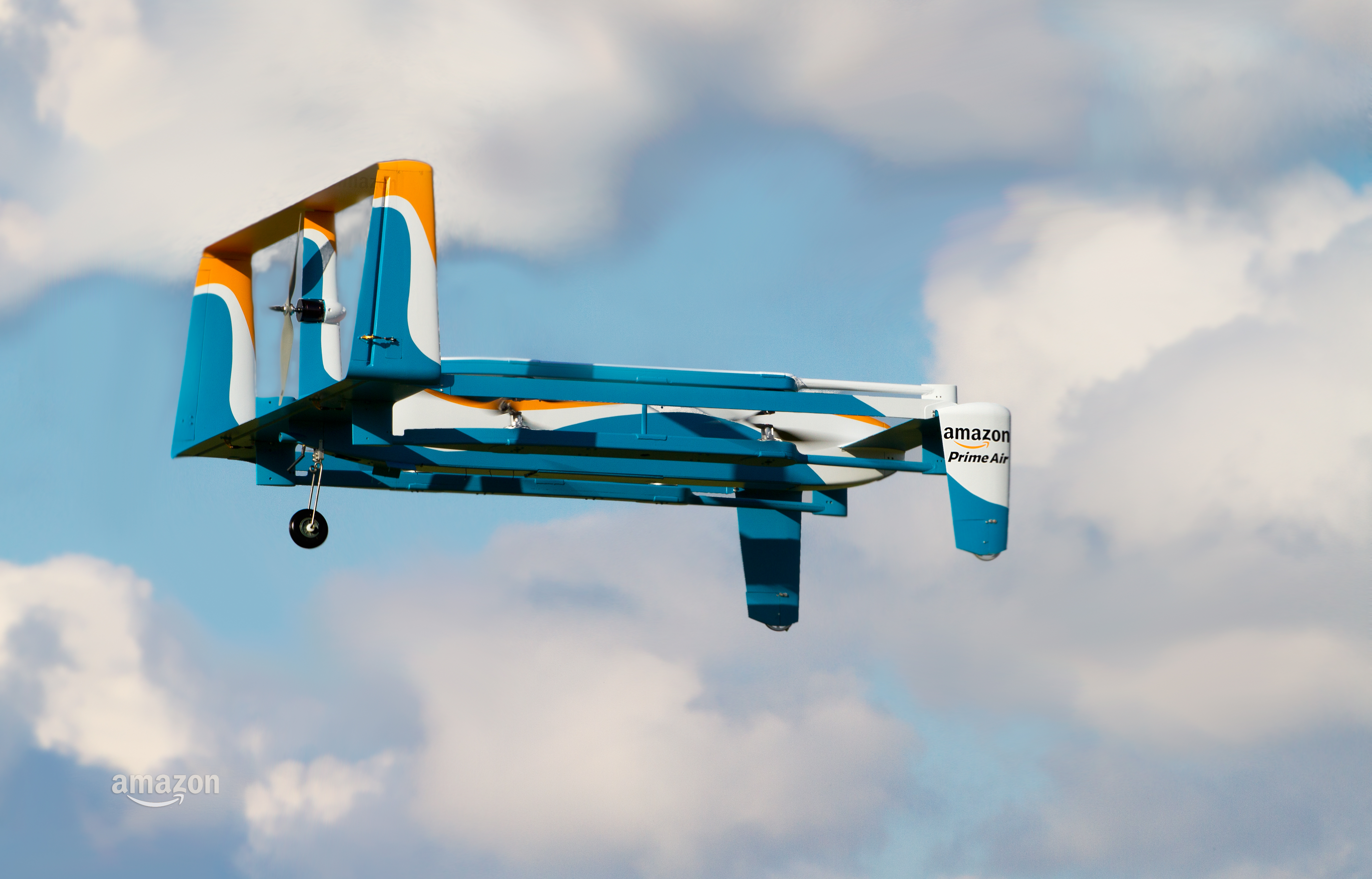 Amazon Claims its First Successful Drone Delivery