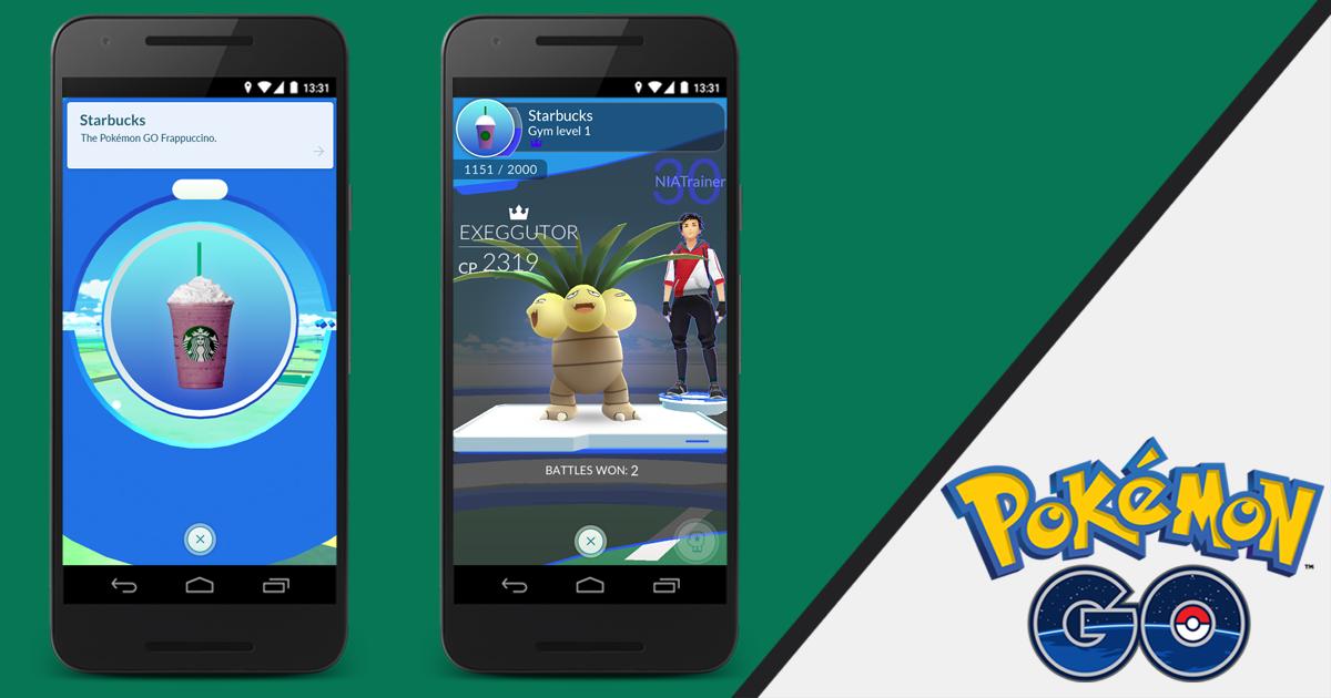 Starbucks Confirms Pokémon Go Brand Partnership