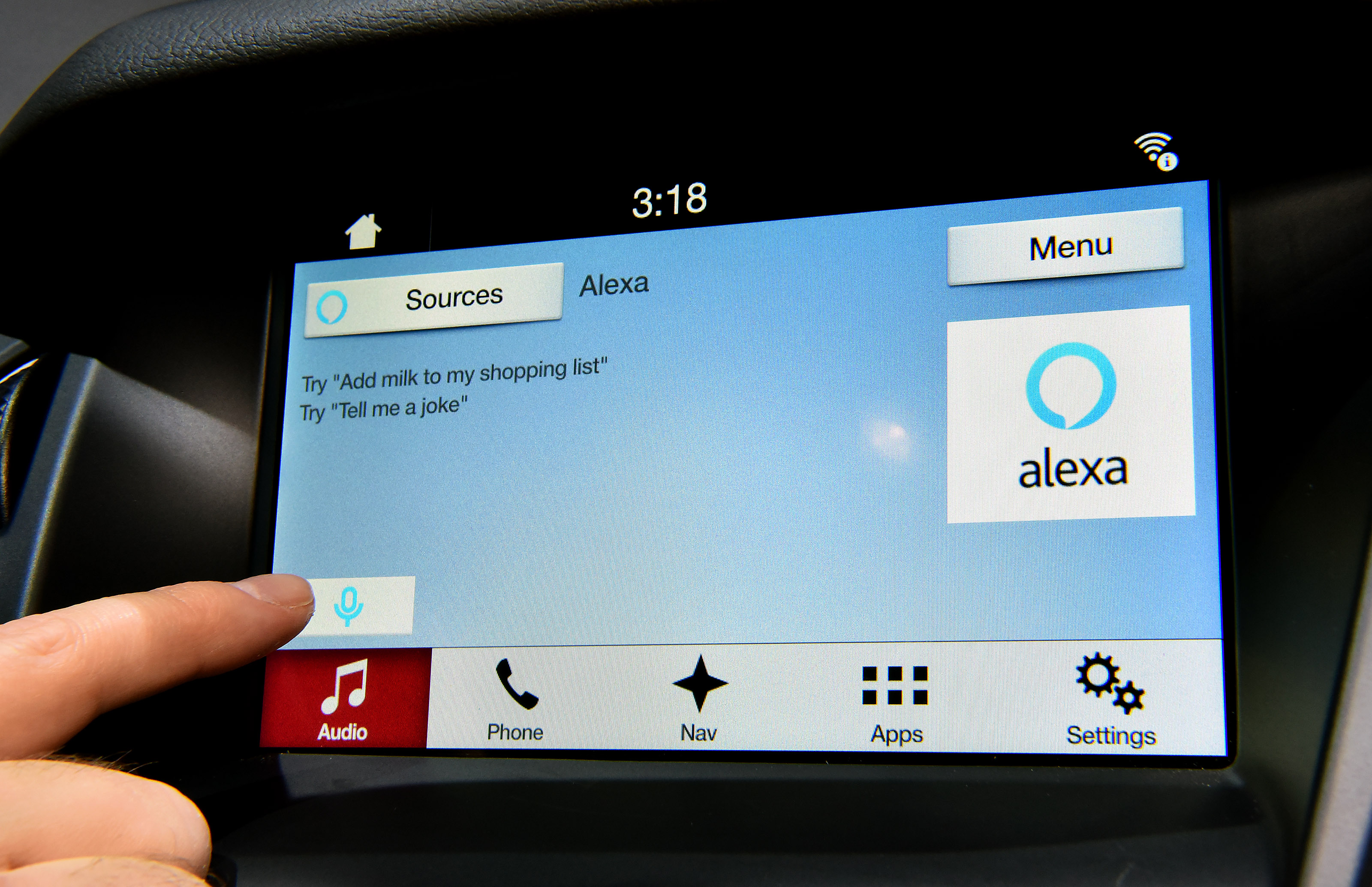 2017 CES - Ford offers Amazon Alexa