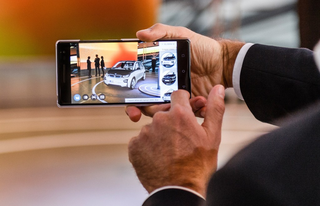 BMW and Accenture Use Google's Tango to Create AR Experience