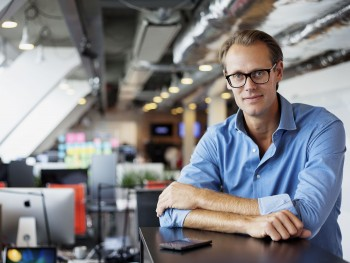 Jacob de Geer, iZettle founder and CEO