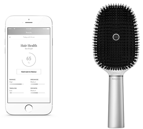 L'Oréal and Withings Partner to Create Smart Hairbrush