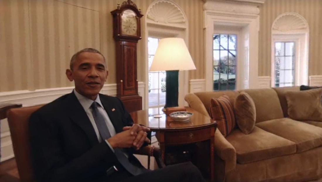 President Obama Takes You on a Virtual Tour of the White House