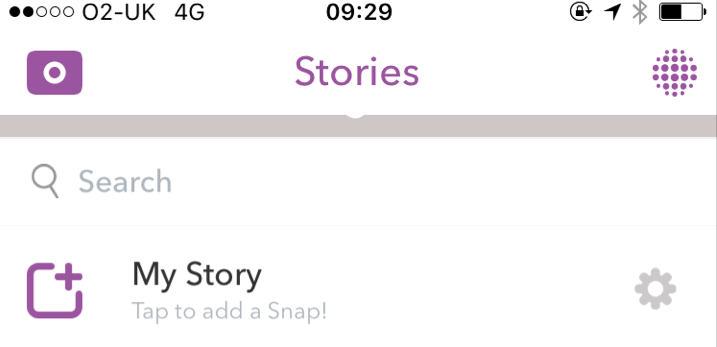 Snapchat Launches Search Bar