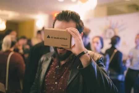 st giles cardboard viewer