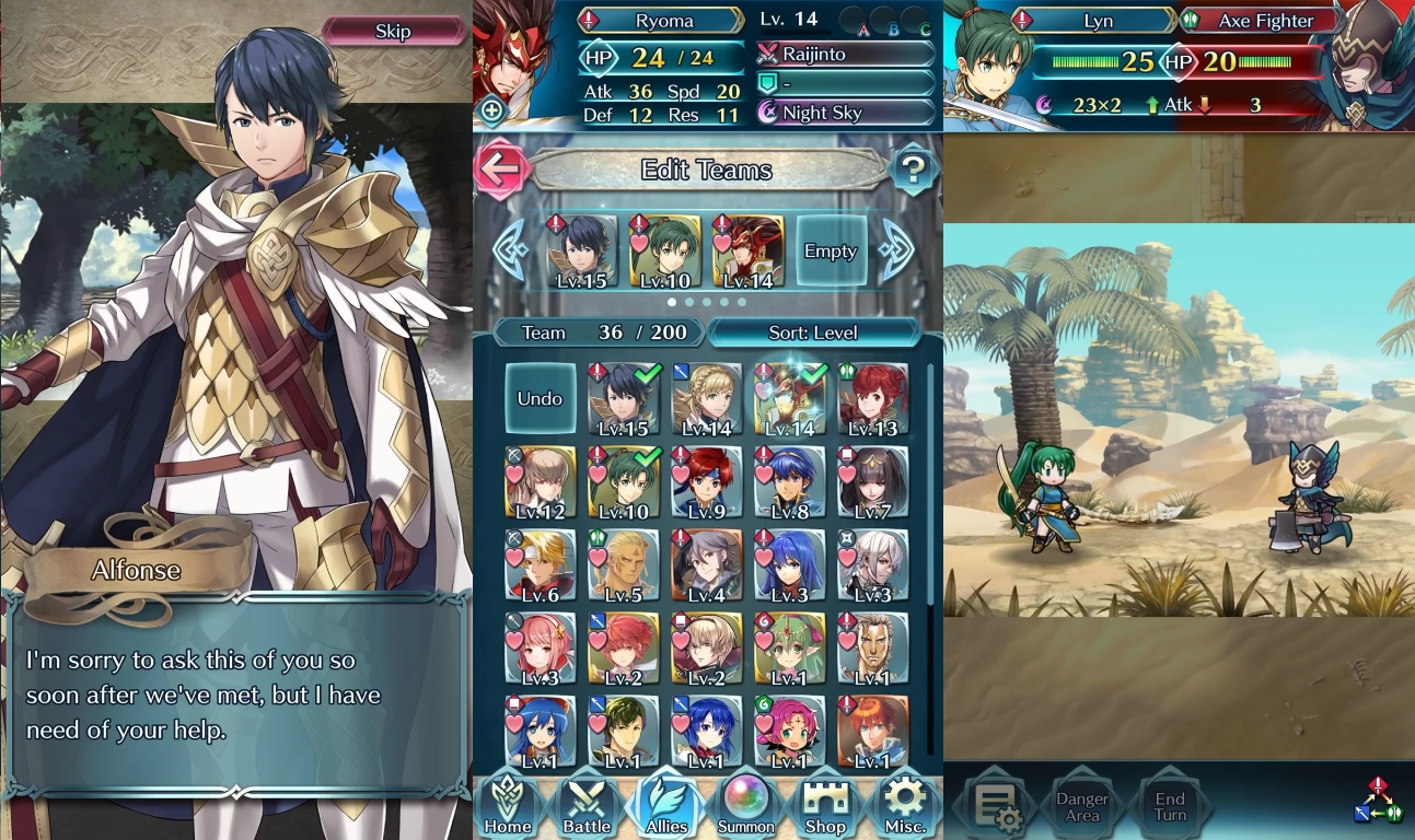 Nintendo's Fire Emblem Heroes Grossed More Than $2.9m in its First Day
