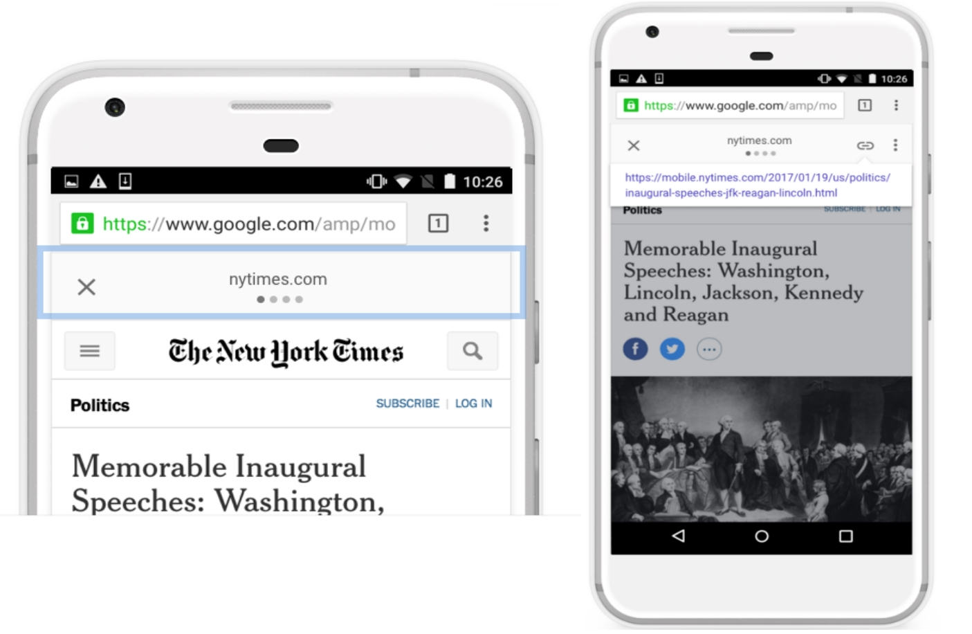 Google is Making it Easier to Share Publisher's Links Via AMP