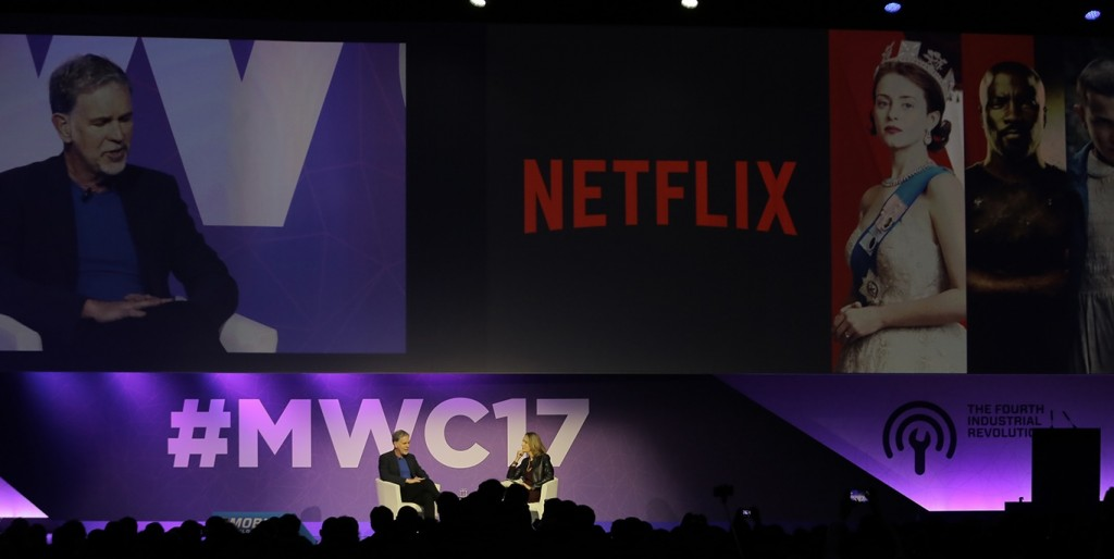 "Reed Hastings: ""We don't design for mobile"""