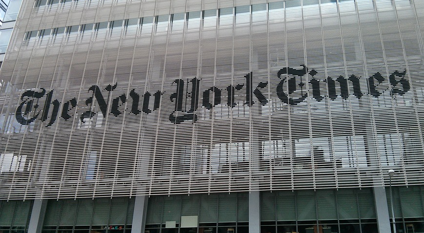 The New York Times Launches on Snapchat Discover