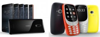 Nokia 6 + Nokia 3310