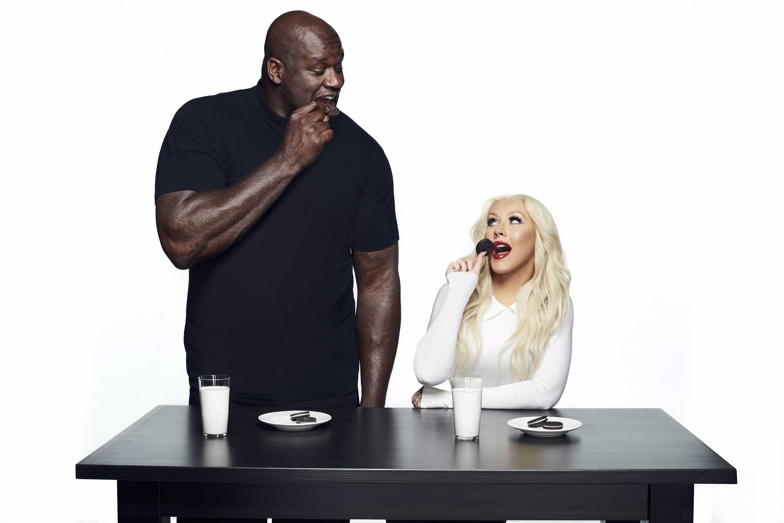 Oreo Launches Star-studded Social Media Campaign Featuring Aguilera, Shaq and Neymar