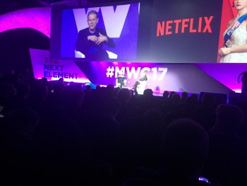 Reed Hastings Netflix at MWC