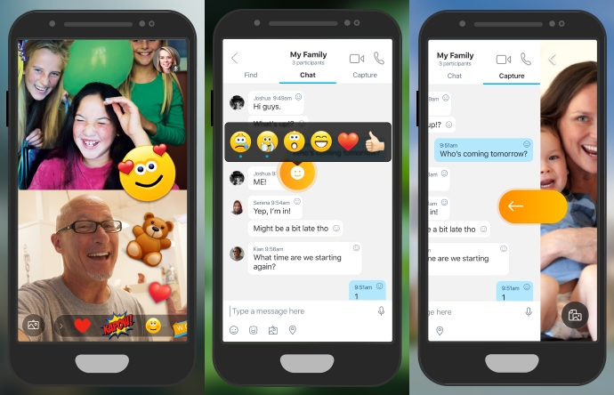 Skype Begins Testing Live Reactions and Integrated Camera