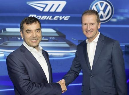 Volkswagen and Mobileye Join Forces on Self-driving
