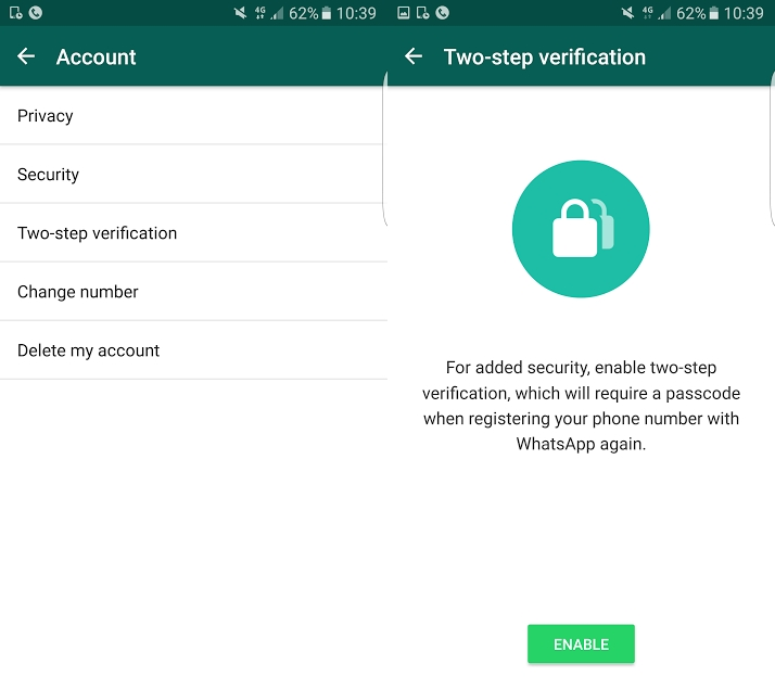 WhatsApp Activates Two-step Verification for Everybody