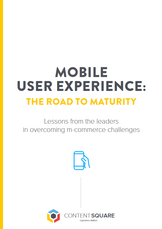 Mobile User Experience: The Road to Maturity