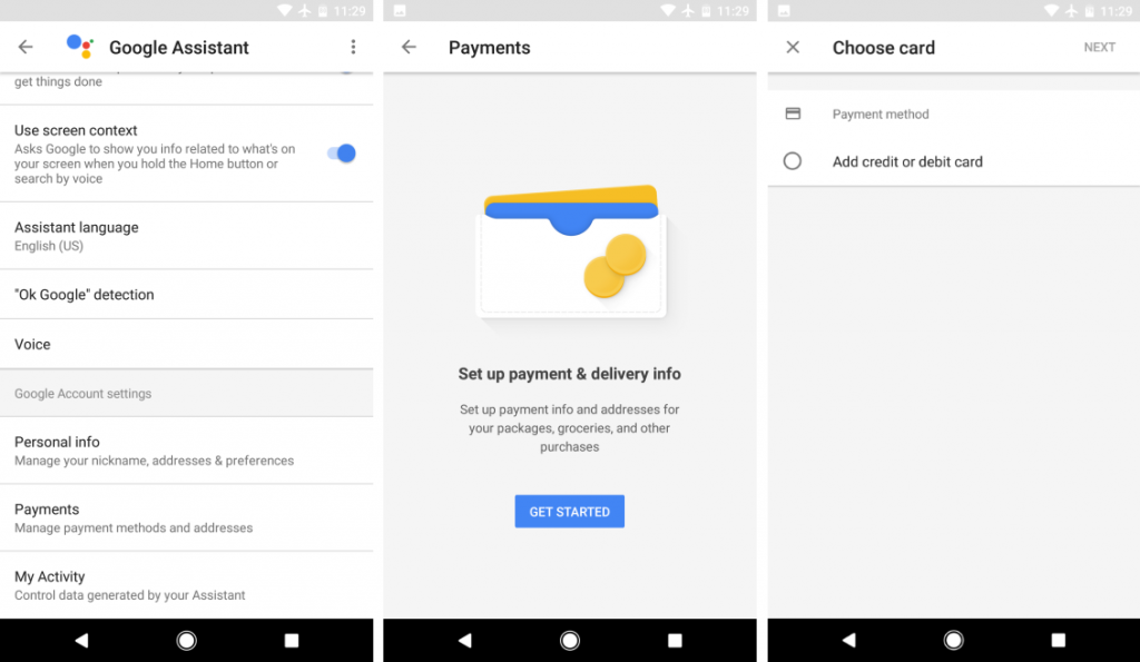 Initial Support for Payments on Google Assistant Begins Rollout