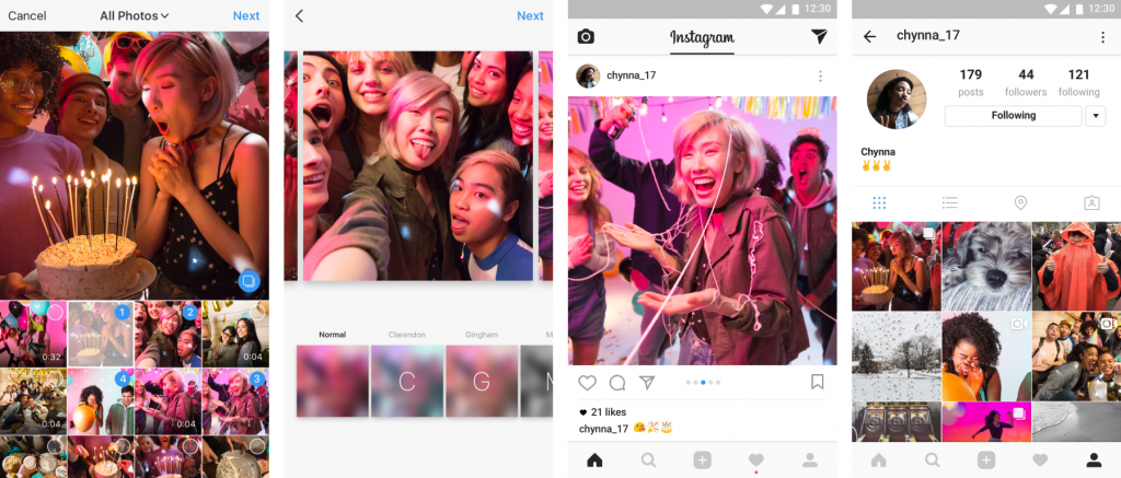 Instagram Expands Posts to Include 10 Photos or Videos
