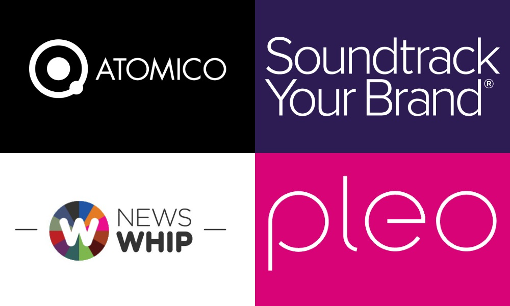 Investment Round: Atomico, Soundtrack Your Brand, NewsWhip and Pleo