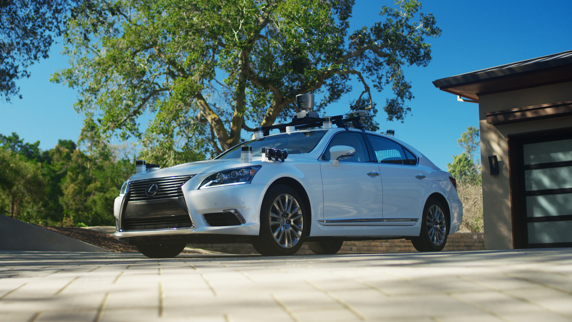 Toyota Self-driving Research Vehicle 2.0