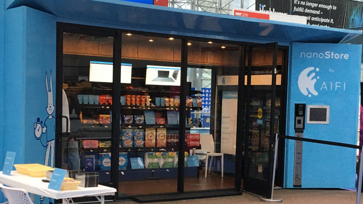 Polish convenience store chain links up with aifi to offer for Mobili convenienti