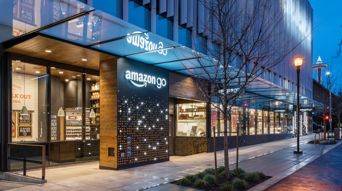 Amazon Opens Its Automated Store Of The Future Mobile Marketing