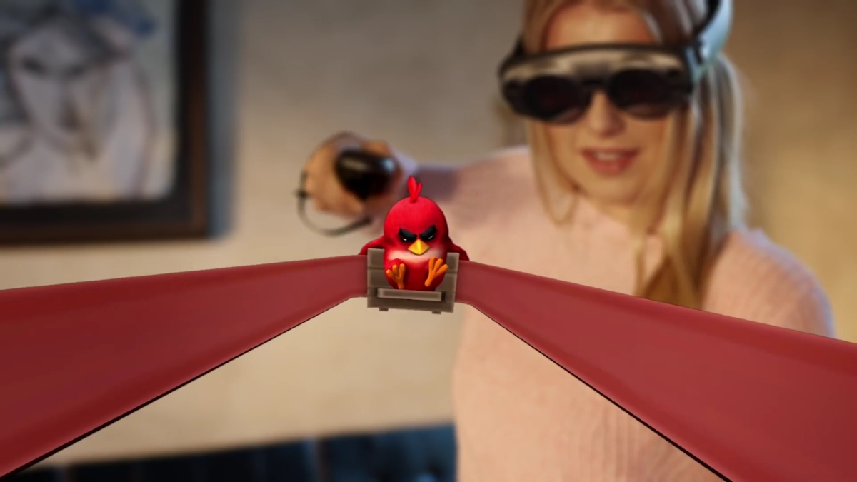 Angry Birds Magic Leap One