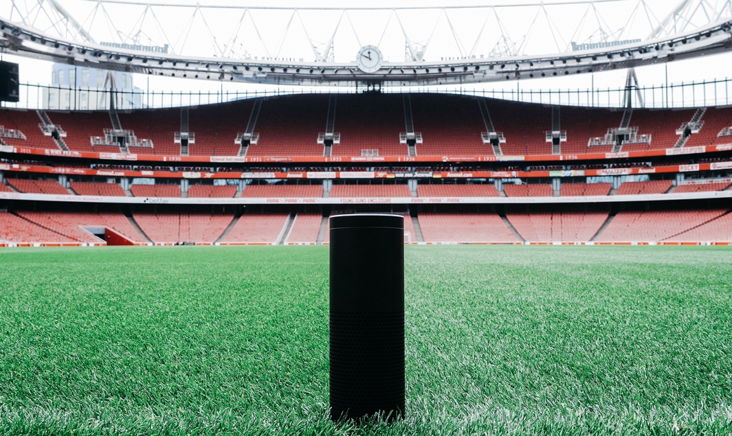 Emirates Stadium (Arsenal) + Amazon Echo