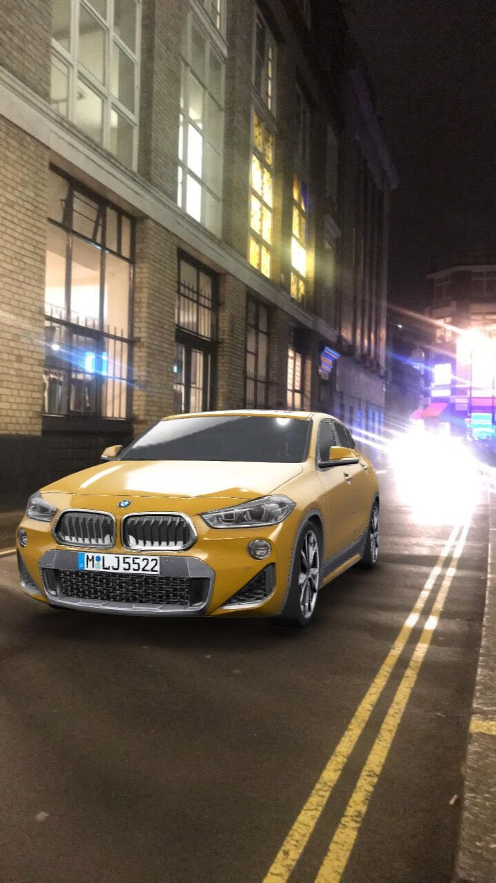 Bmw First To Take Snapchat S Augmented Trial Lens For A Test Drive Mobile Marketing Magazine