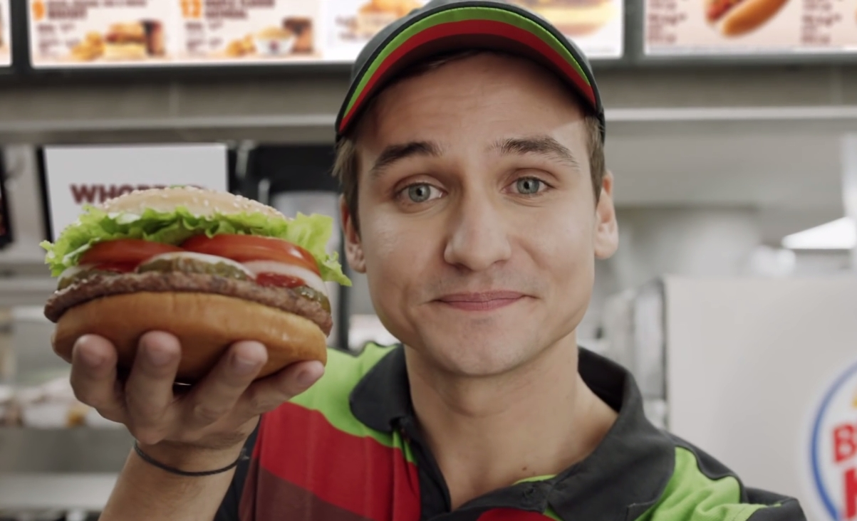 Burger King Whopper ad