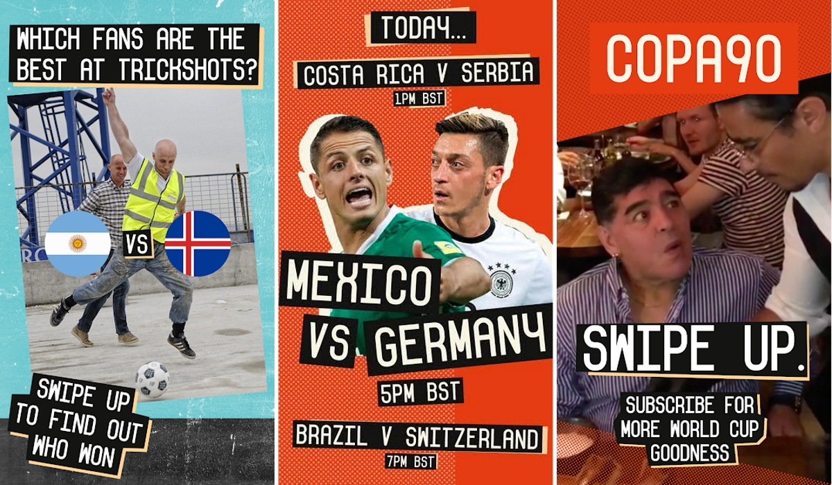 Copa90 Snapchat World Cup