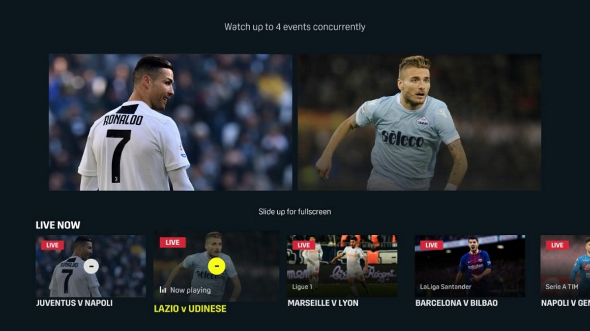 Dazn Now Lets Viewers Watch Multiple Games At Once On The Same Screen Mobile Marketing Magazine