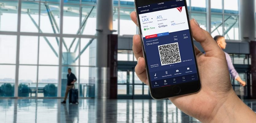 delta adds automatic app check in for flyers mobile marketing magazine