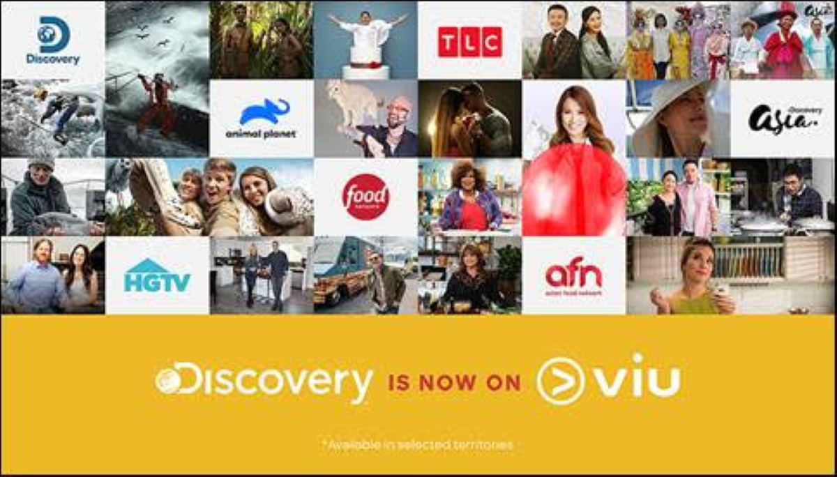 Discovery pens deal with Viu to bring its real-life entertainment to Southeast Asian audiences
