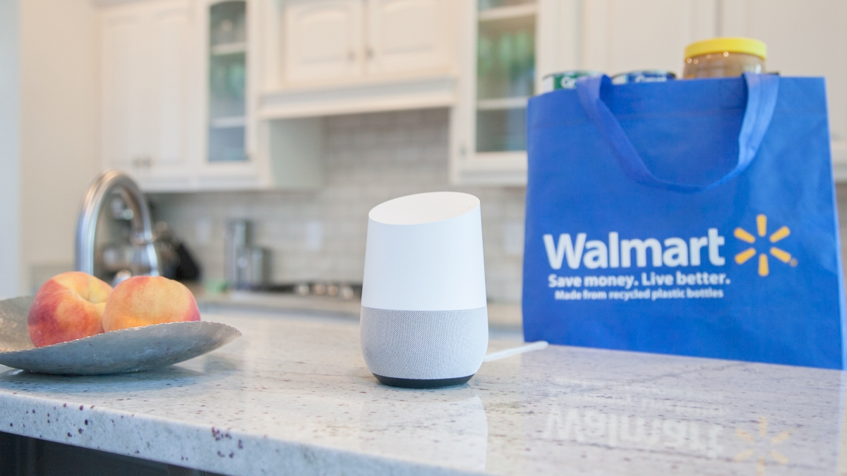Walmart Moves into Voice Shopping