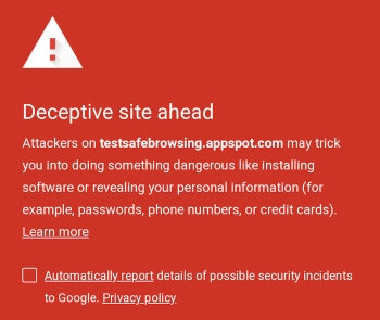 Google Brings Chromes Safe Browsing To Android Apps Mobile - Android app privacy policy template
